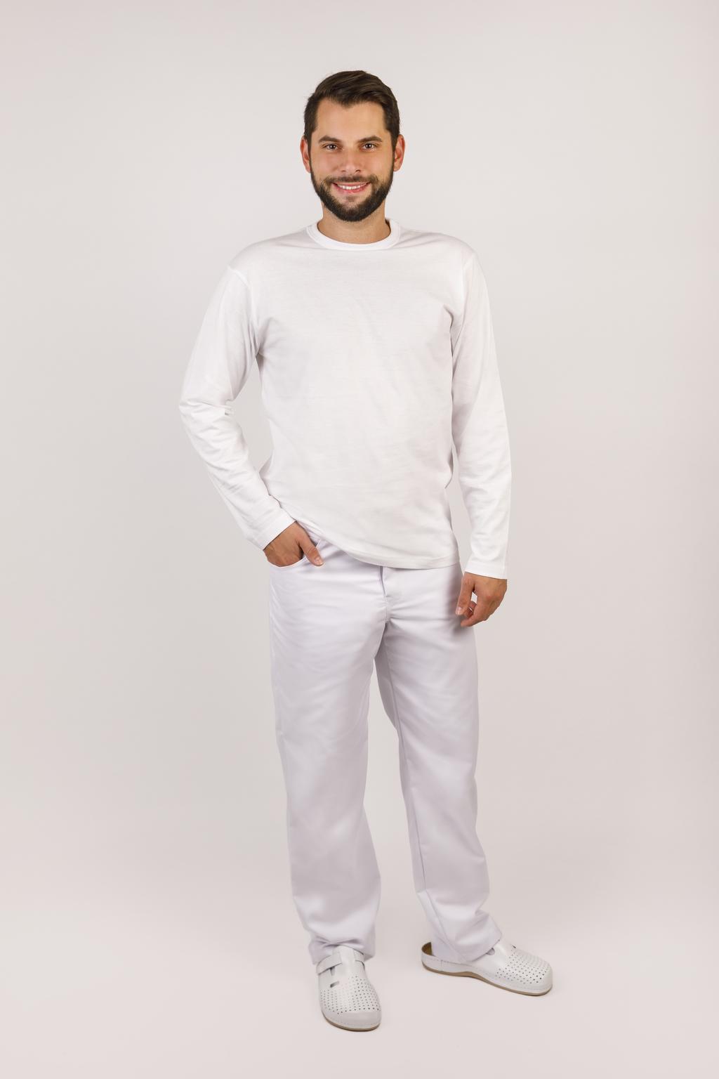 Pánské triko FILIP bavlněné triko s dlouhým rukávem