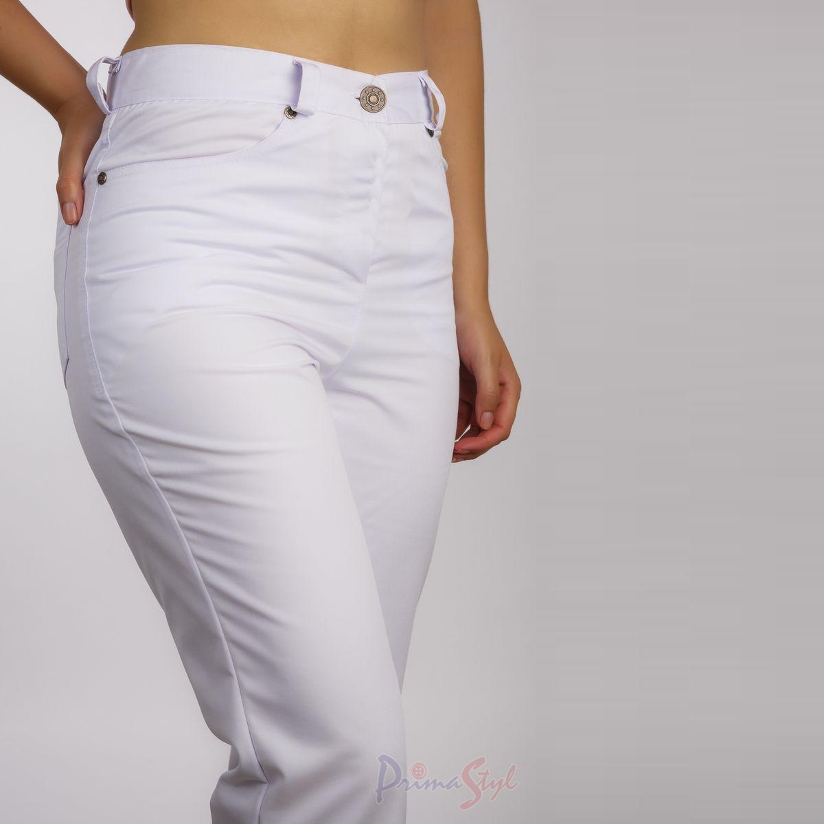 17ffd43a1ce SANDY dámské kalhoty - bílé