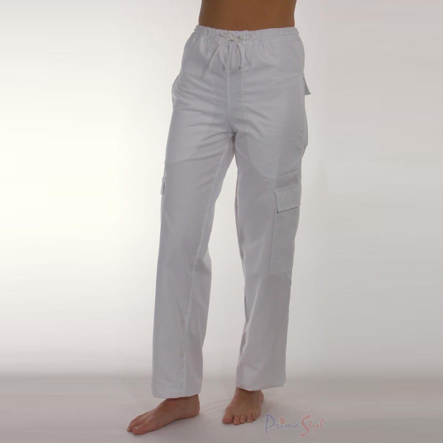 Kalhoty ALENA dámské kalhoty v pase do gumy