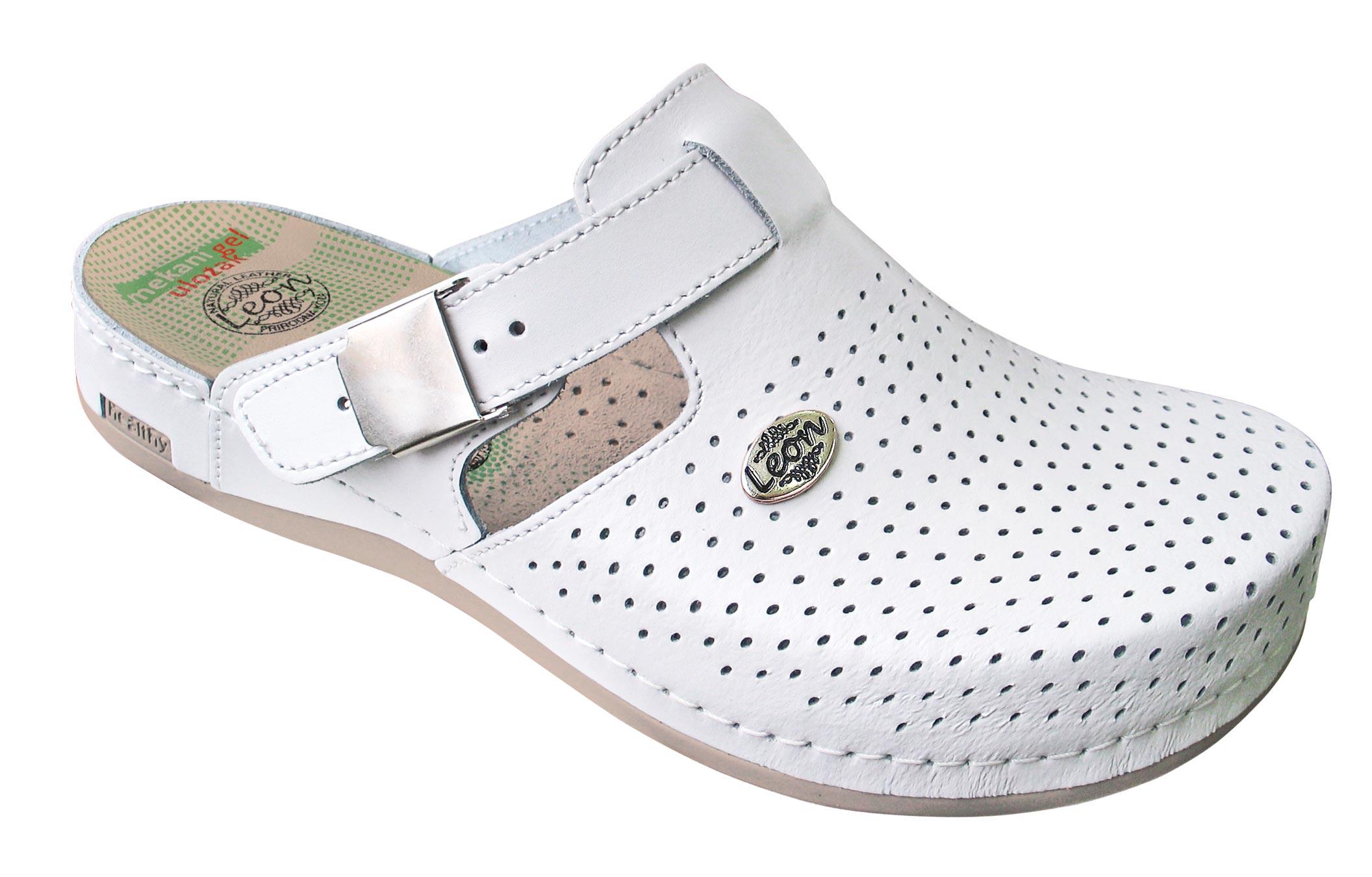 INES protiskluzová obuv - bílá 0e914f7b67